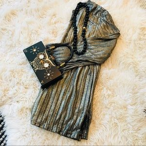 Vintage Blair Gold Shimmer Top or Tunic/Dress